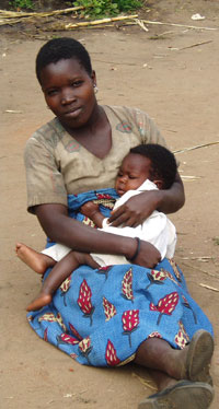 African Mother and Child, Malawi, Around 2000