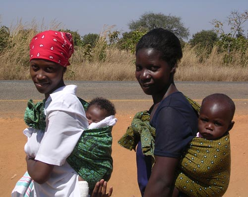 Rural Women with Babies, Malawi, 2000s