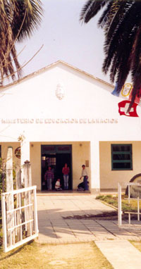 Front of High School, Argentina, early 2000s