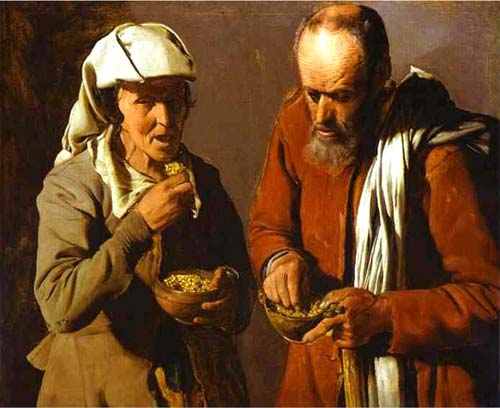 George de La Tour, The Porridge Eaters