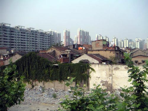 Urban Renewal in Shanghai, China