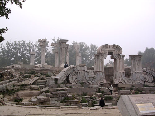 Ruins of Western Palaces at Yuanmingyuan, Beijing, China 2007