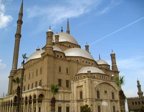 Mosque of Mohammed Ali, Cairo, Egypt. Constructed Mid-19th Century
