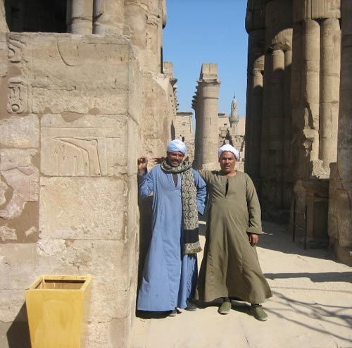 Egyptian workers in Upper Egypt, 2007