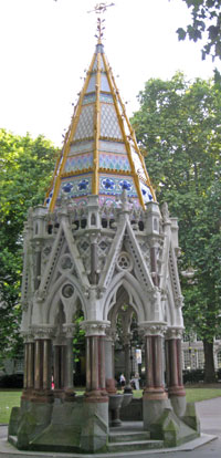 Buxton Memorial to the Abolition of Slavery in Britain, London, England