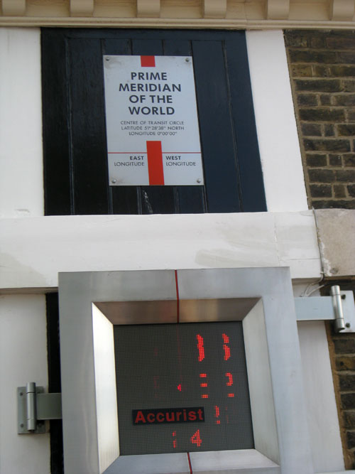 Prime Meridian of the World, Greenwich, England