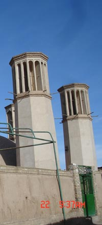 Ancient Air Conditioning in Yazd, Iran