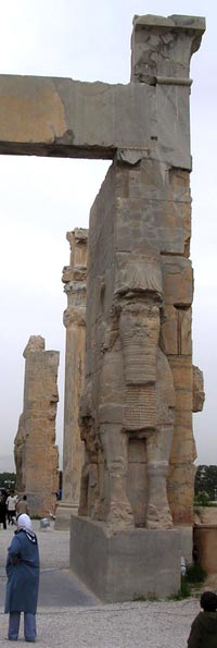 Ruins at Persepolis, Ancient Persian Palace