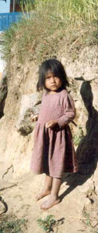 Young Child in Himalaya Mountains, Nepal, 1980s