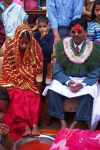 Wedding in Chitwan Valley, Nepal, Around 2000