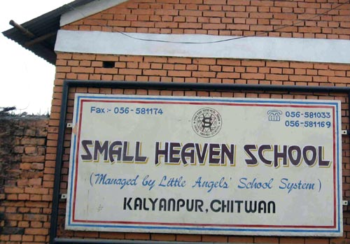 Small Heaven School, Chitwan, Nepal, 2008