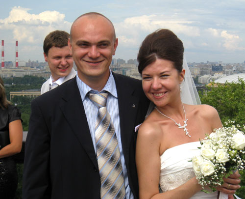 Wedding photo, Russia, 2009