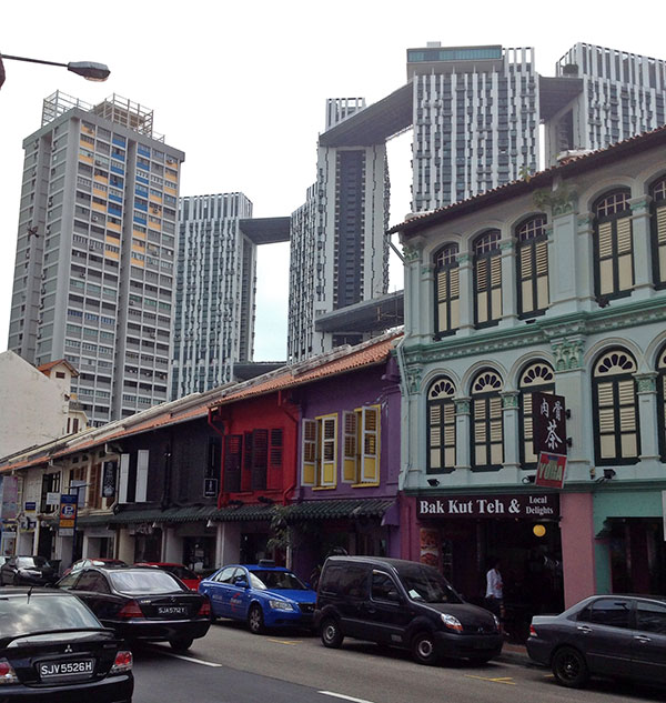 Old and New Singapore