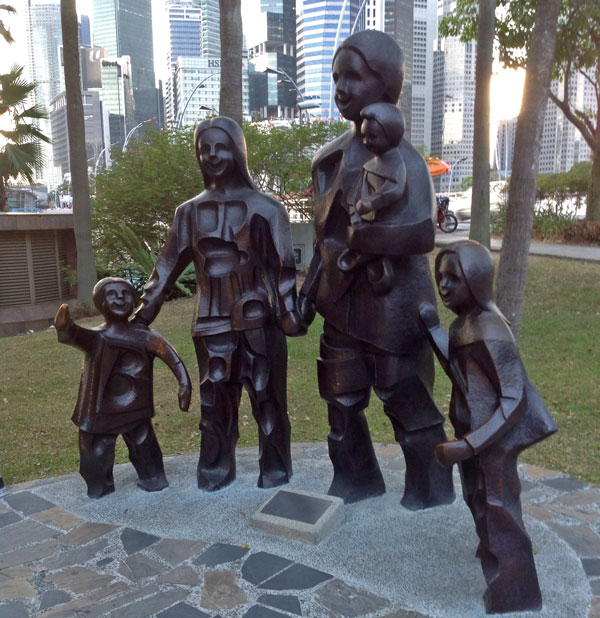 Three Child Family, Singapore