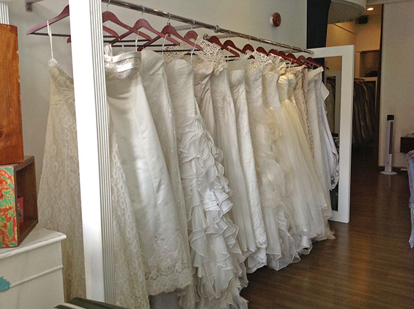 Wedding dress shop, Singapore