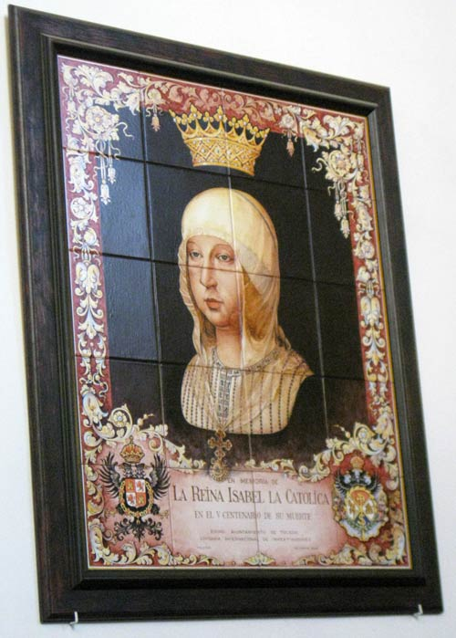 Painting of Queen Isabella of Spain