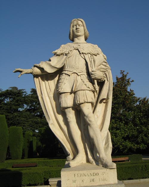 Statue of King Ferdinand of Spain
