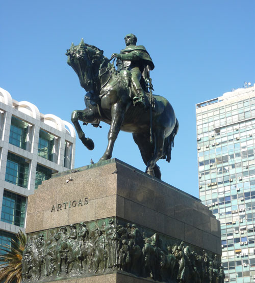 Jose Artigas, father of Uruguayan independence