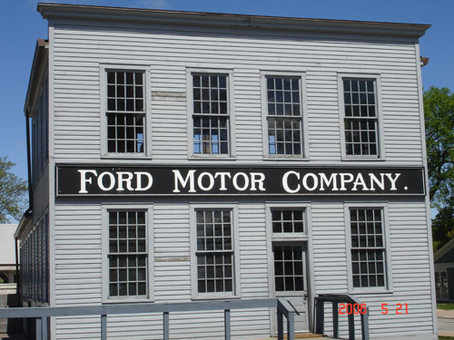 Early Ford Motor Company Factory