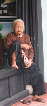Vietnamese woman in Hoi An, 2006