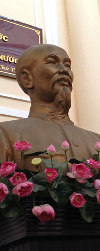 Ho Chi Minh, Vietnamese revolutionary and president